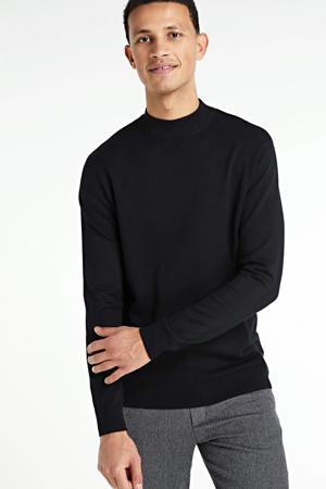 fijngebreide trui Harry zwart