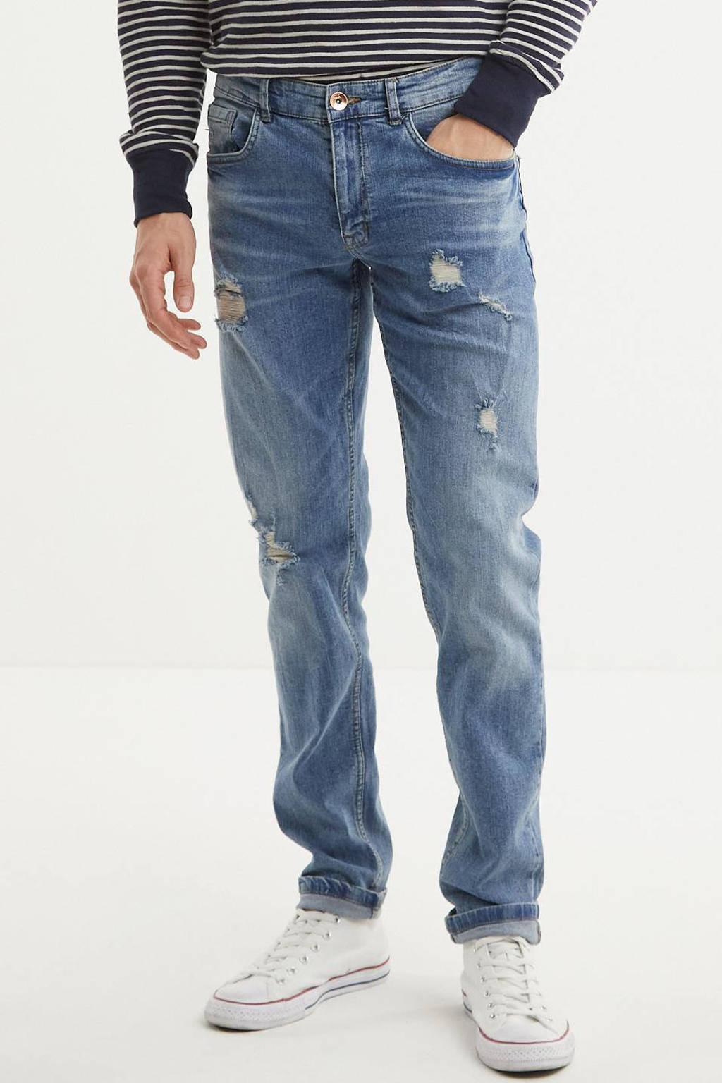 Redefined Rebel slim fit jeans Stockholm Destroy sea shore 506, Sea Shore 506