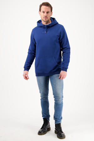 hoodie Newton blauw