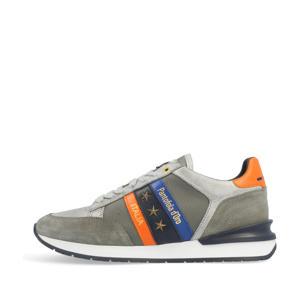 Ascoli Runner N Neon Uomo Low  suède sneakers grijs