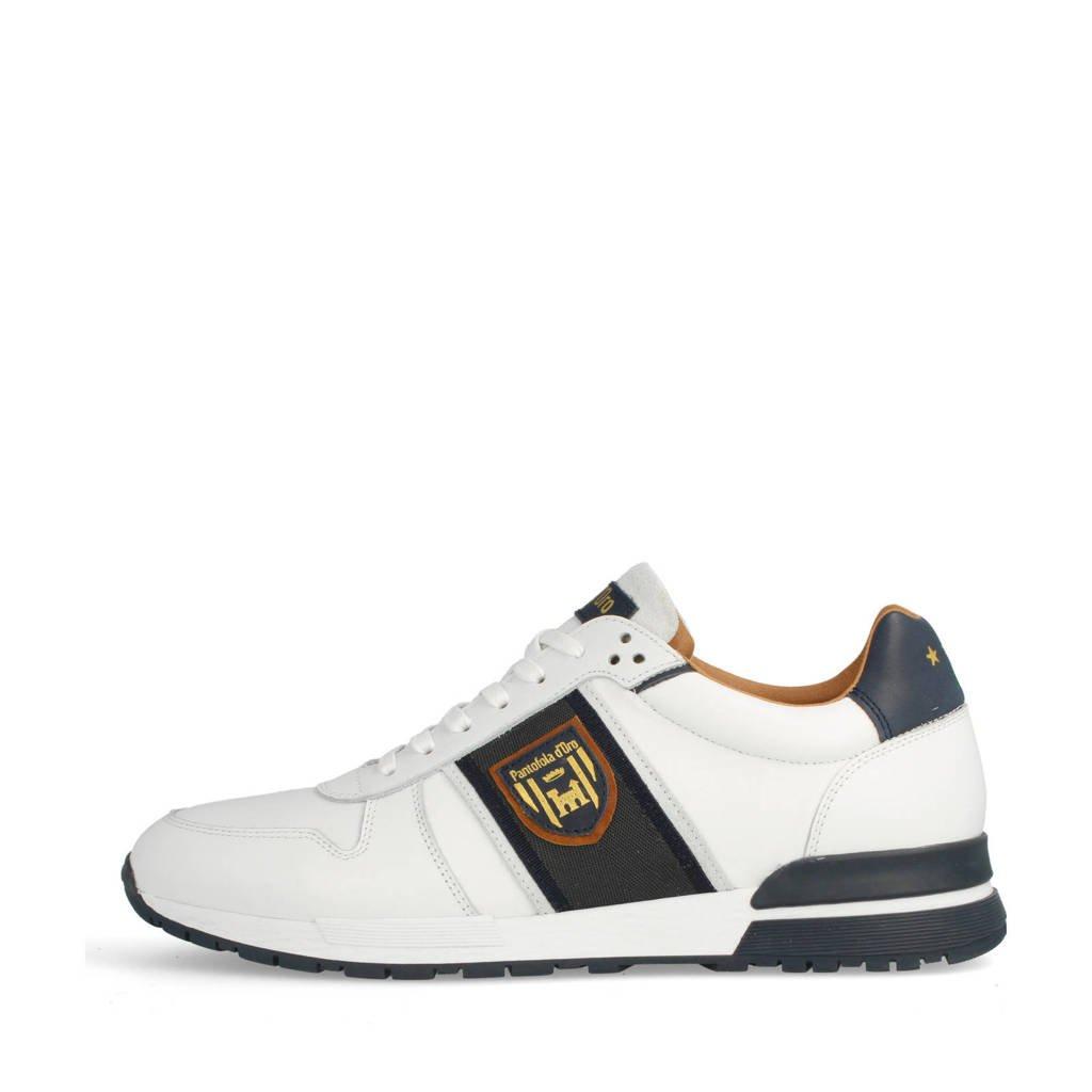 Pantofola d'Oro Sangano Uomo Low  leren sneakers wit, Wit