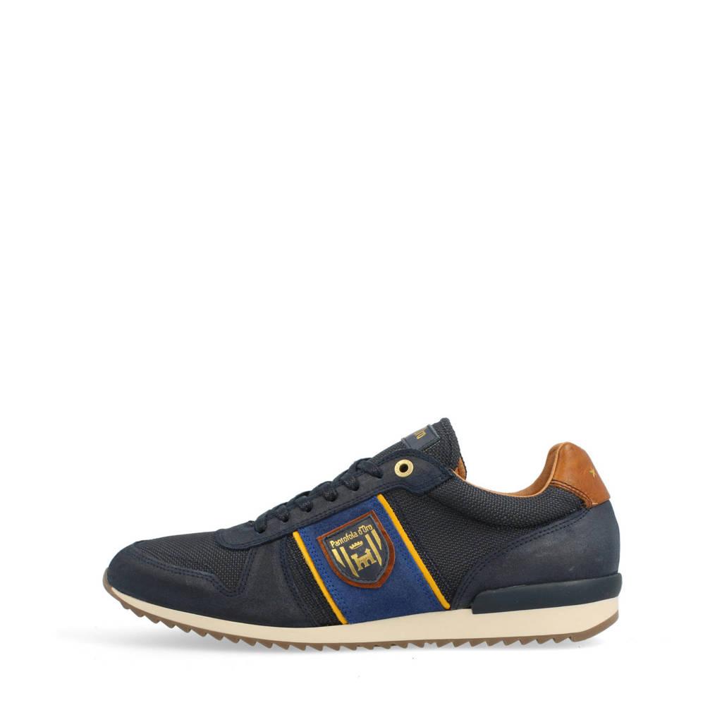 Pantofola d'Oro Umito N Uomo Low  leren sneakers blauw, Leer