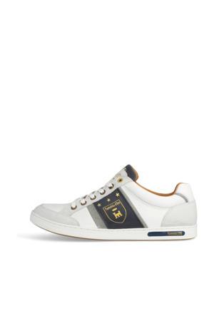Mondovi Uomo Low  leren sneakers wit