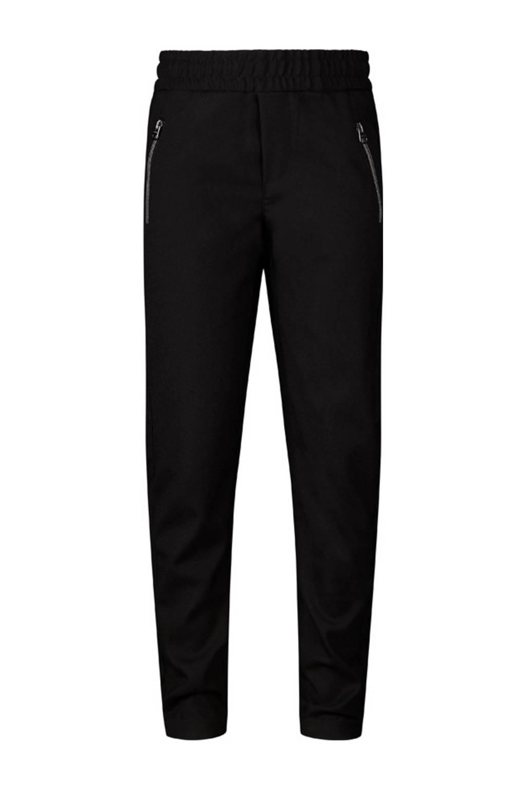 Retour Denim regular fit broek Hugo zwart, Zwart