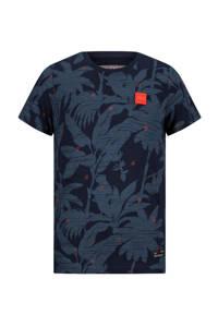 Retour Denim T-shirt Robert van biologisch katoen donkerblauw, Donkerblauw