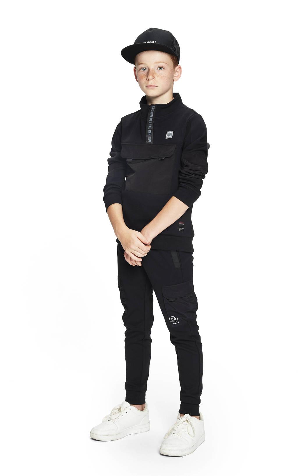 Retour Denim sweater Randy zwart, Zwart