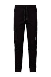 Retour Denim regular fit joggingbroek Bruce zwart, Zwart