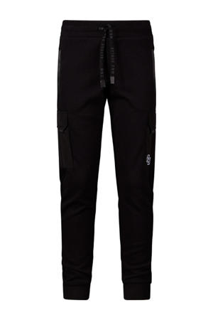 regular fit joggingbroek Bruce zwart