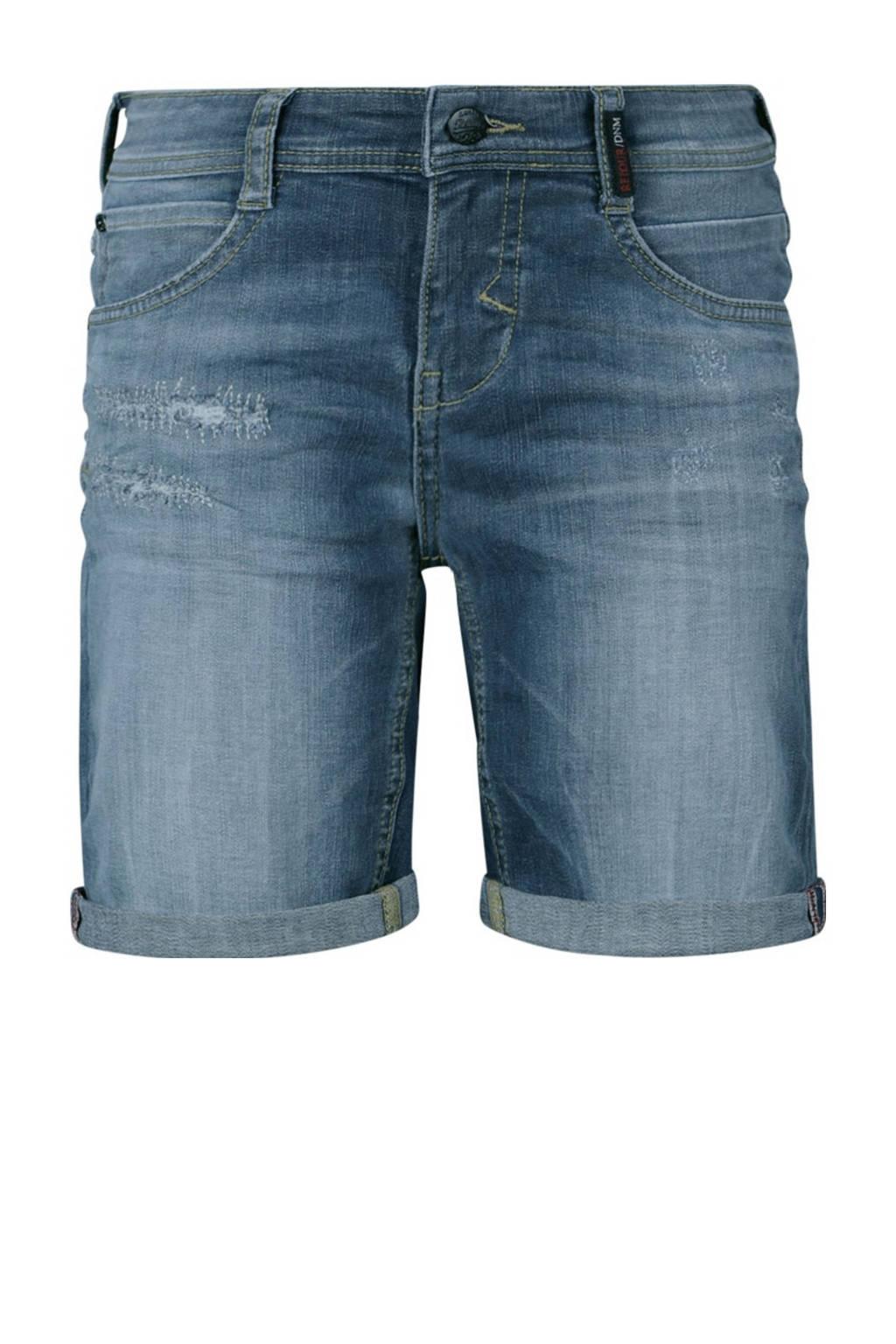 Retour Denim regular fit jeans bermuda Reve medium blue denim, Medium blue denim