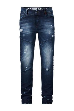 super skinny fit jeans Dusty medium blue denim