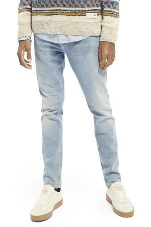 skinny fit jeans Skim blauw trace