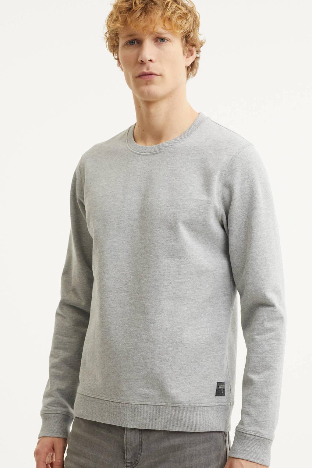 Butcher of Blue sweater lichtgrijs, Lichtgrijs