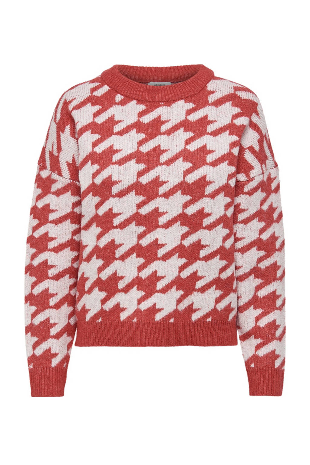 JACQUELINE DE YONG trui JDYAXIS met grafische print rood, Rood