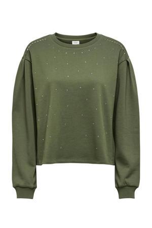 sweater JDYBASA groen