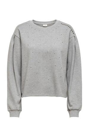 sweater JDYBASA grijs
