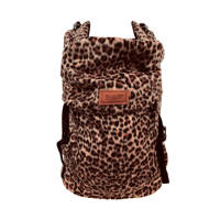 ByKay Click Carrier Classic draagzak Furry Leopard Rust