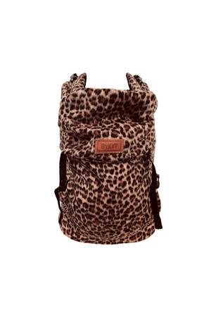 Click Carrier Classic draagzak Furry Leopard Rust