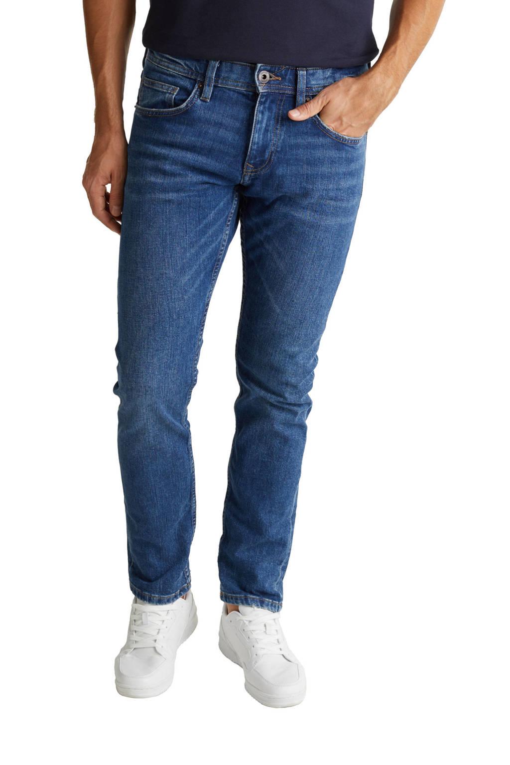 ESPRIT Men Casual regular fit jeans met biologisch katoen blue