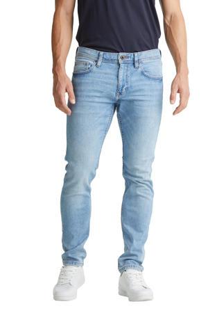 regular fit jeans met biologisch katoen blue light wash