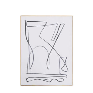 schilderij Aesthetic Lines  (30x40 cm)