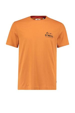T-shirt Rocky Mountain oranje