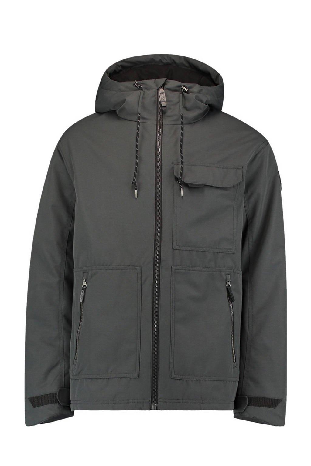 O'Neill outdoor jas Urban Utility grijs, Pirate Black