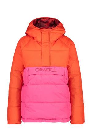 ski-anorak O'Riginals rood/roze