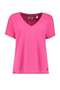 O'Neill T-shirt Rock fuchsia, Fuchsia