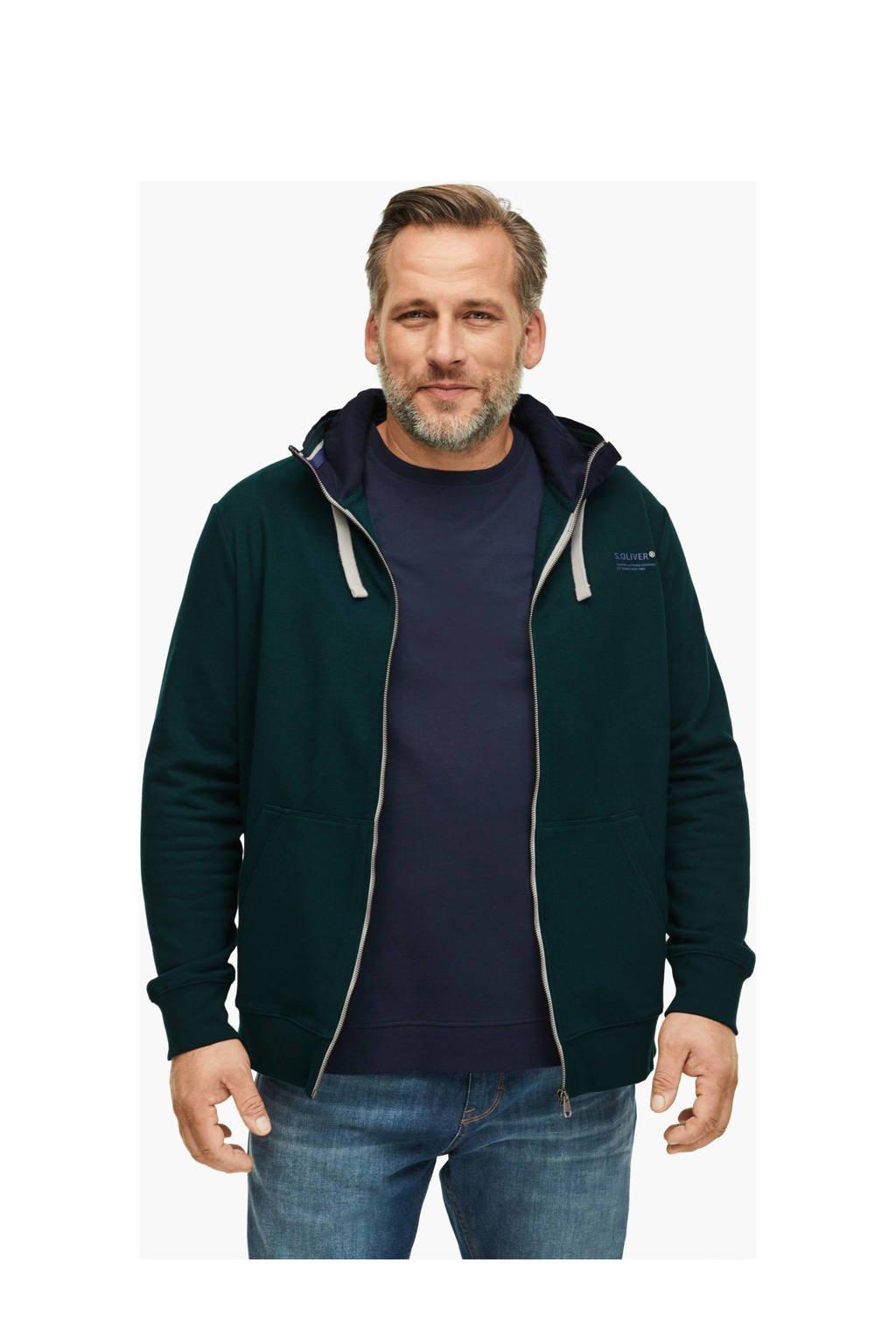 s.Oliver vest groen, Groen