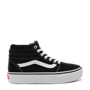 Ward Hi Platform sneakers zwart/wit