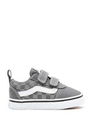 Ward V Checker sneakers zilver/wit