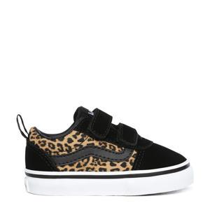 Ward V sneakers zwart/camel/wit