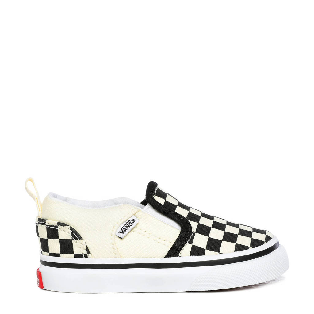 VANS Asher V sneakers zwart/ecru, Zwart/ecru