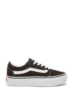 Ward Platform sneakers zwart/wit