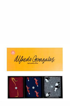Giftbox sokken Animals - set van 3