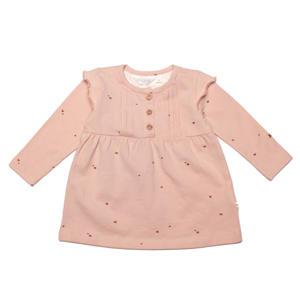 baby jurk Polly met biologisch katoen lichtroze