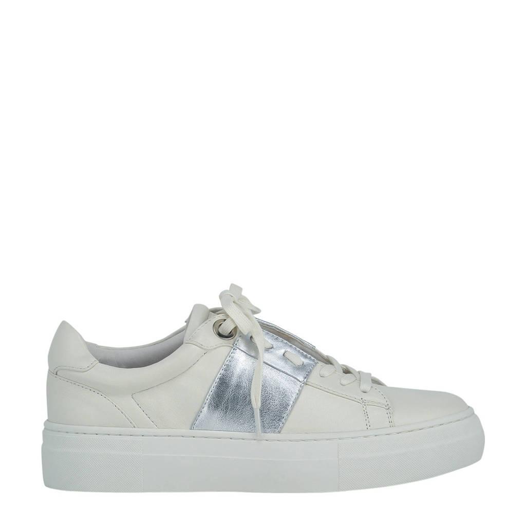 JOSH V JV Leslie  leren sneakers off white/zilver, Off white/zilver