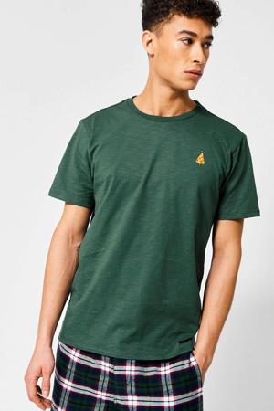 T-shirt Lenno X van biologisch katoen groen
