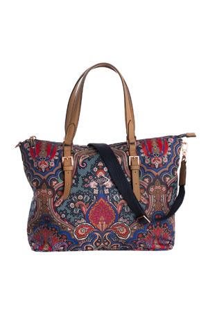 Paisley Handbag donkerblauw