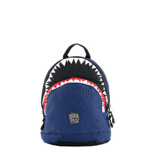 Shark Shape Backpack S navy
