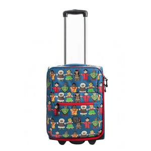 Cute Peace Kindertrolley blauw