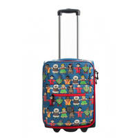 Pick & Pack kindertrolley Cute Peace blauw, Blauw