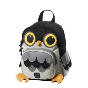 Cute Owl Shape Backpack grijs