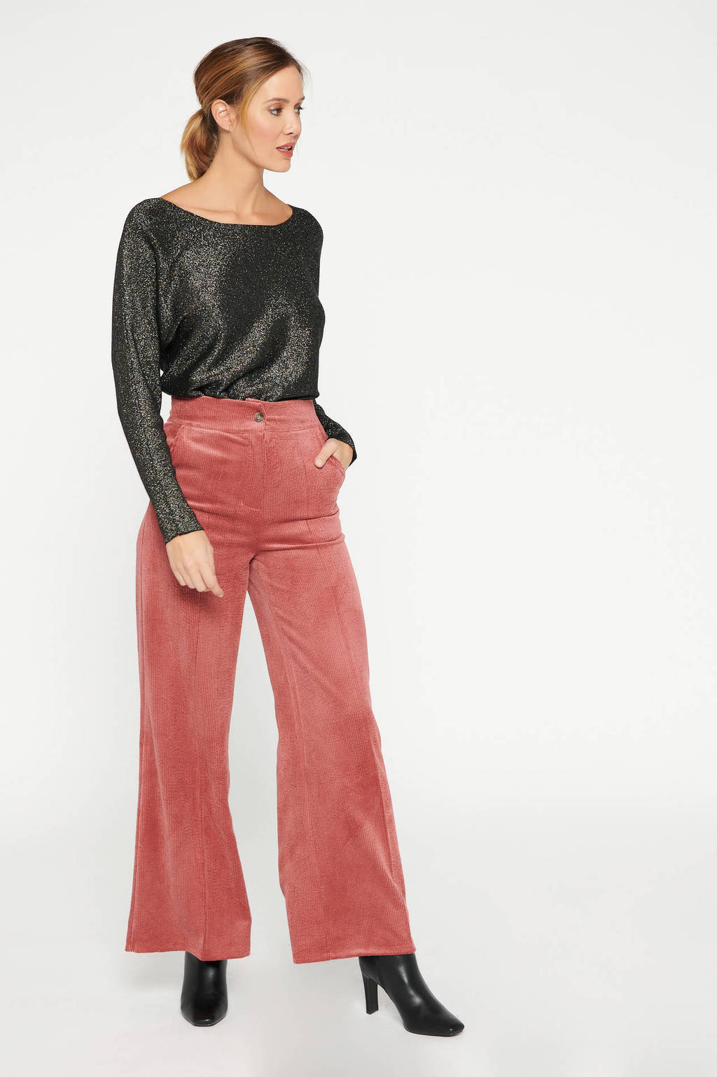 LOLALIZA trui zwart, Zwart
