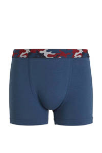 C&A Here & There   boxershort - set van 3 blauw/rood, Donkerblauw/rood