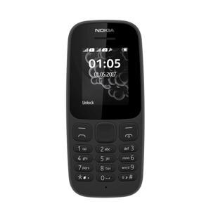 105 NEO mobiele telefoon + tot LYCA €15 beltegoed (zwart)