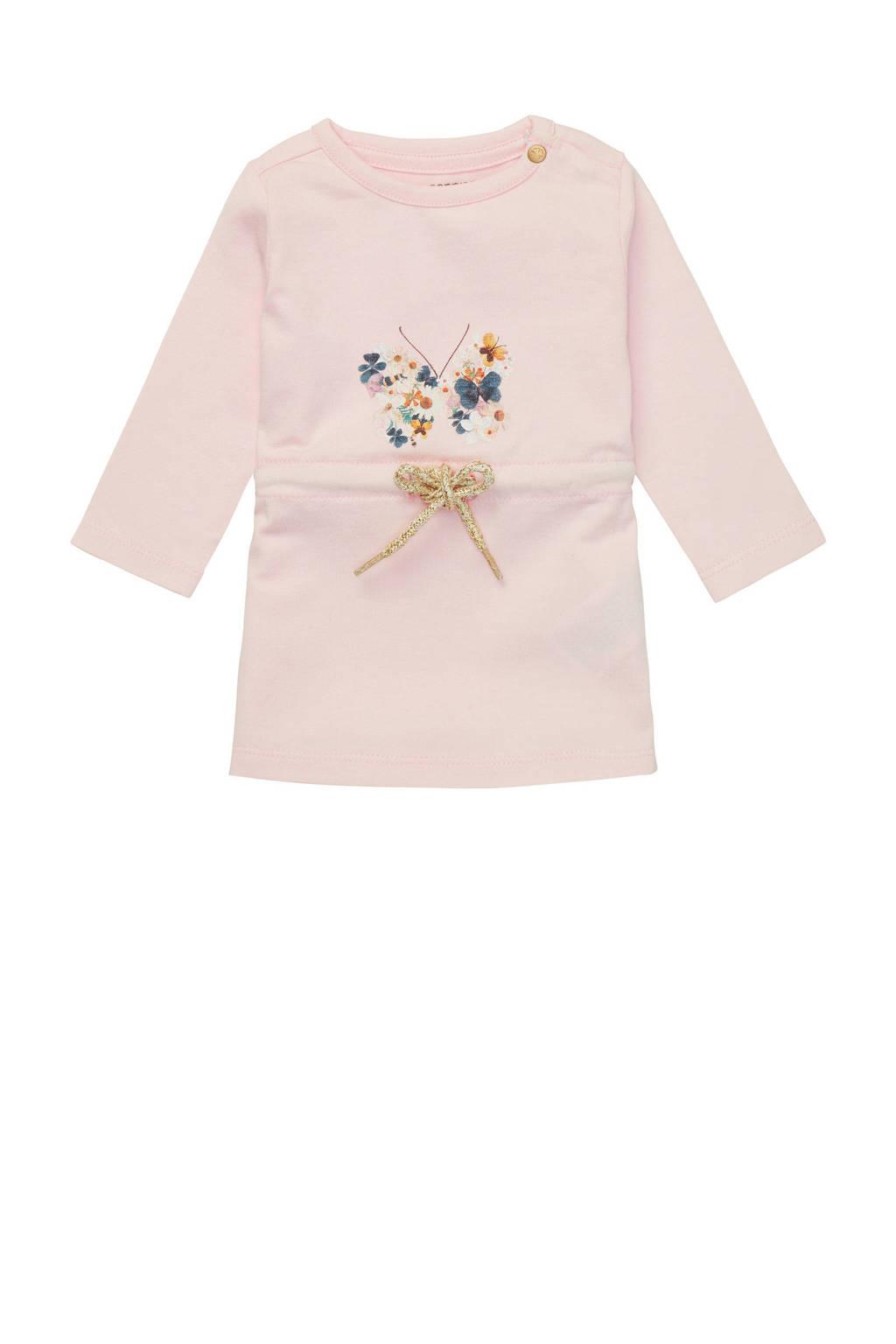 Noppies baby jurk Metchosin met biologisch katoen lichtroze, Lichtroze