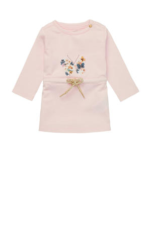 baby jurk Metchosin met biologisch katoen lichtroze