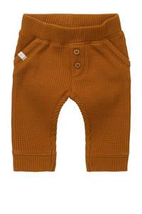 Noppies baby slim fit broek Sandown met biologisch katoen bruin, Bruin