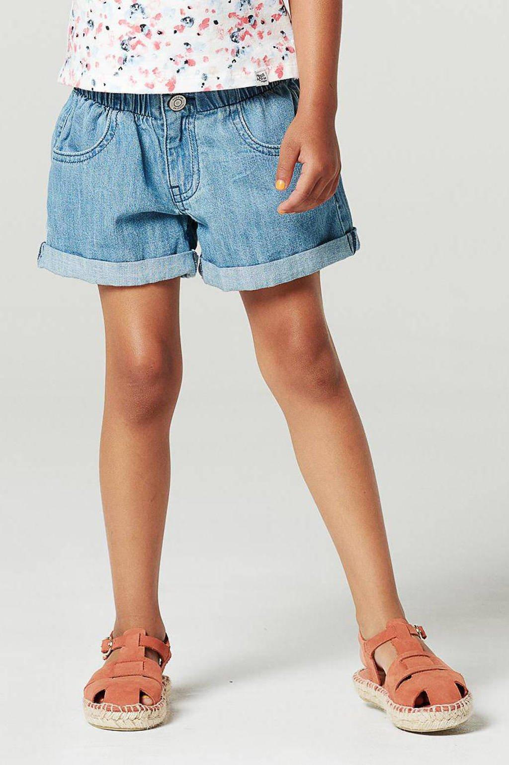 Noppies jeans short Ladyfernway light denim, Light denim